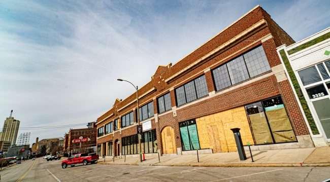 Saint Louis Fashion Fund Washington Midtown St. Louis under construction on Feb. 2021. credit craig currie