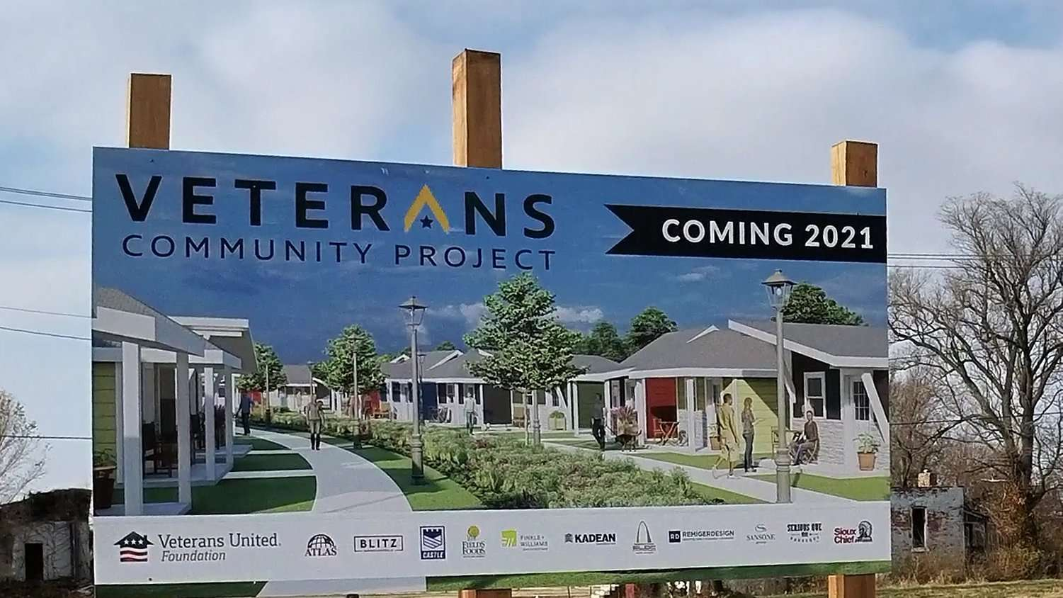 Tiny Homes for Veterans St. Louis 2021