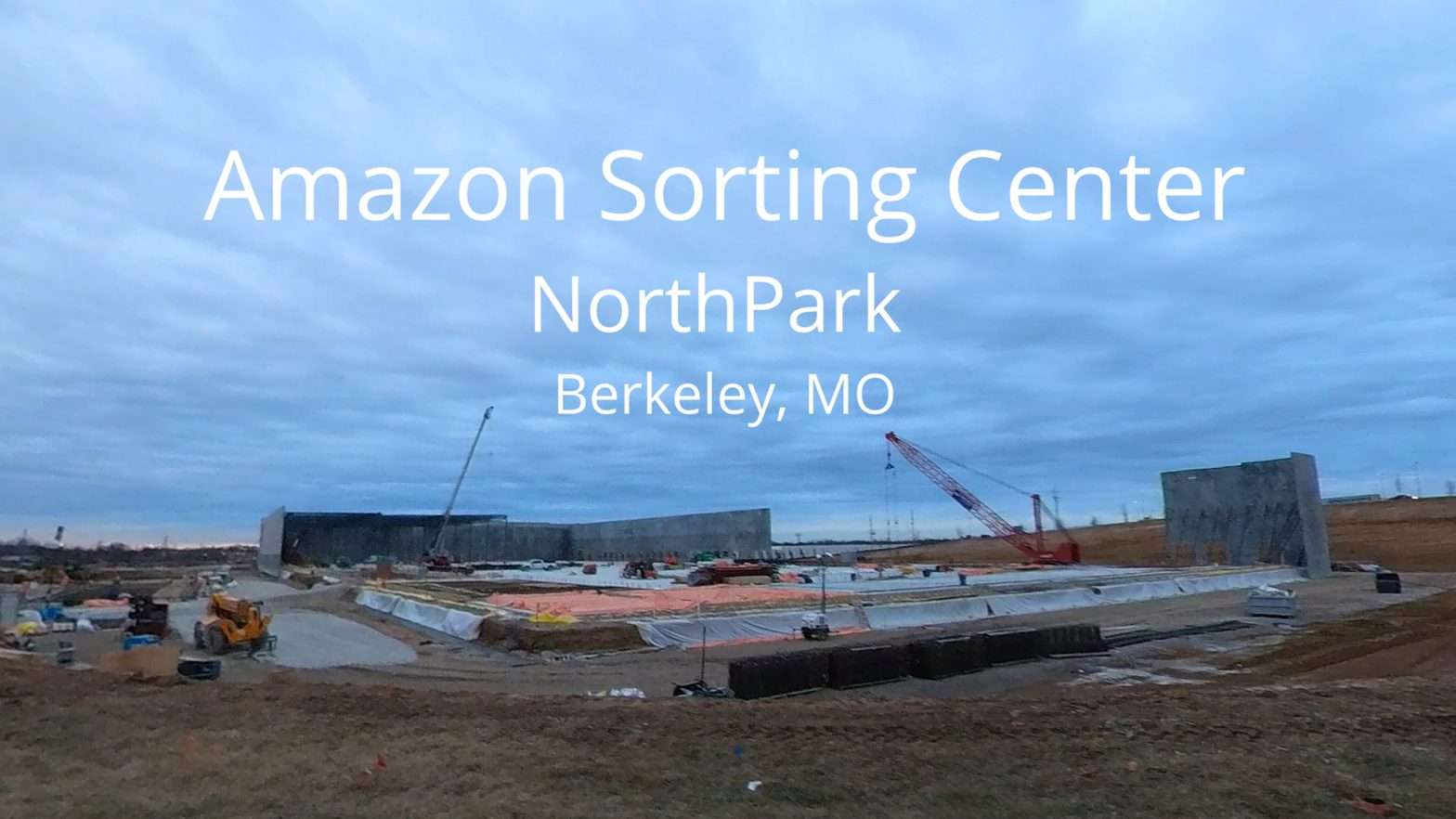 Amazon Berkeley, MO Construction. credit craig currie