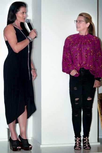 Audra Harold Speaker at Saint Louis Fashion Fund. credit craig currie