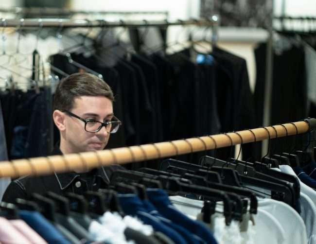 Christian Siriano at Saint Louis Fashion Fund. credit craig currie