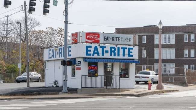 Eat Rite Diner at 7th and Chouteau in downtown St. Louis. credit craig currie