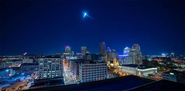 Moonlight from The Last Hotel STL, credit craig currie