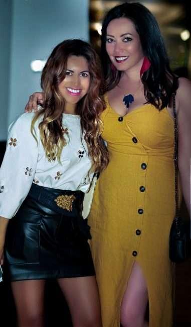 Saint Louis Fashion Fund Carmen Ramirez and Barbara Bultman. credit craig currie