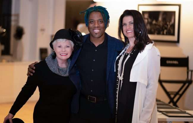 Saint Louis Fashion Fund with Dianne Isblell, Dwight Carter, Audra Harrold. credit craig currie