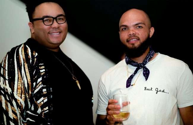 Saint Louis Fashion Fund with Michael Shead L and Bryant Finerson Jr. credit craig currie