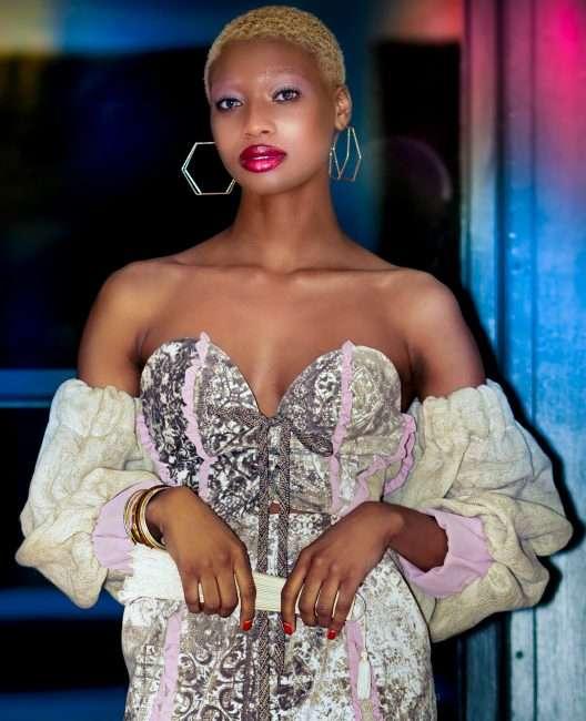 Saint Louis Fashion Fund with Model Aniya Gates. credit craig currie