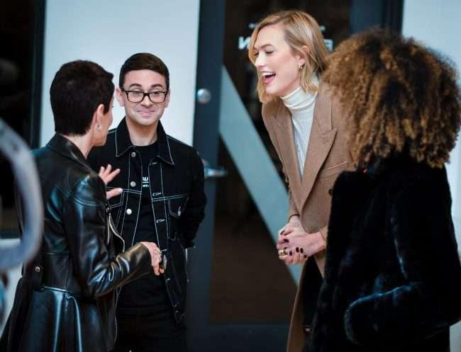 Susan Sherman, Christian Siriano, Karlie Kloss, Elaine Welterothat at Saint Louis Fashion Fund. credit craig currie
