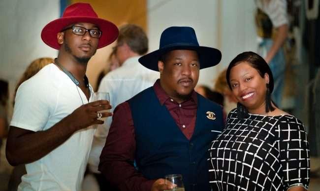 St Louis Fashion Fund with Shahron Vaulx, Anthony Freeman. Trhonda Edwards. credit craig currie