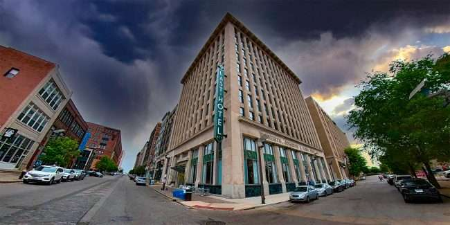The Last Hotel in downtown St. Louis. credit craig currie