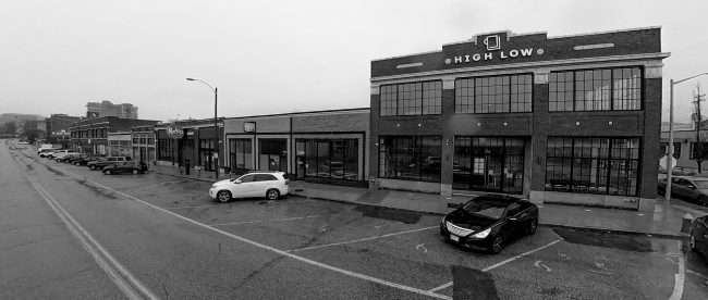 High Low Literary Arts Cafe at 3301 Washington Ave. in Grand Center, St. Louis in Feb. of 2021. credit craig currie