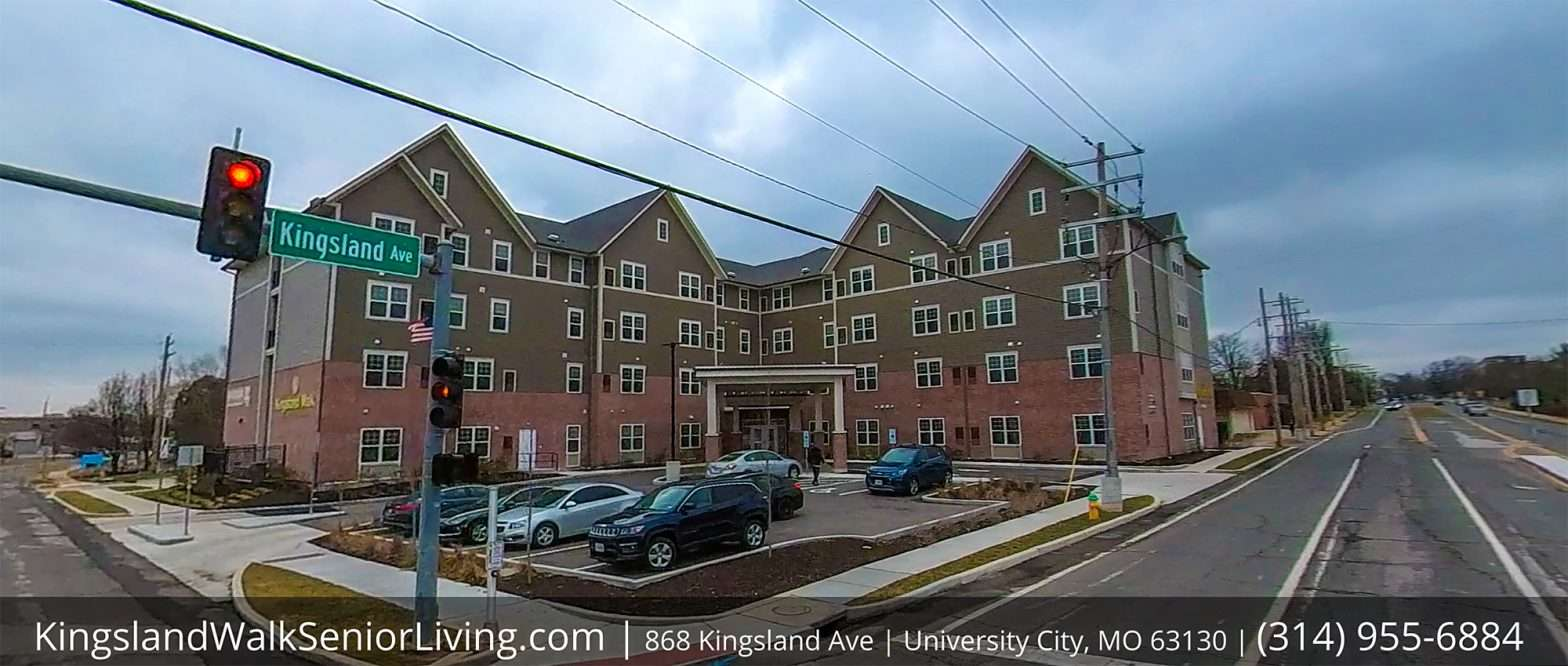 Kingsland Walk Senior Living University City on February 2021. credit craig currie