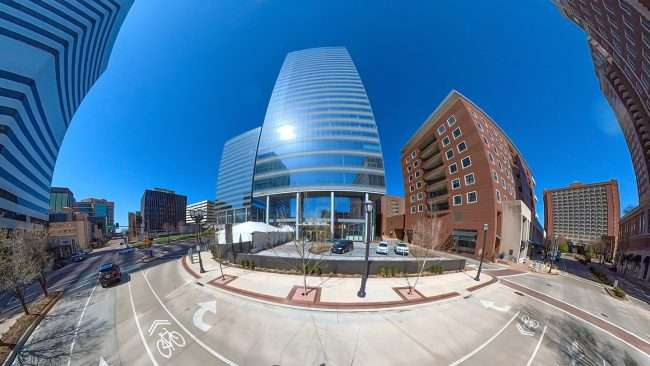 Clayco builds Centene Plaza. credit craig currie March 2021
