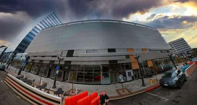 Clayton Centene Civic Center Theatre Venue. credit craig currie March 2021
