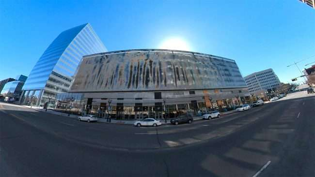 Clayton Centene Civic Center built by Clayco in Clayton. credit craig currie March 2021