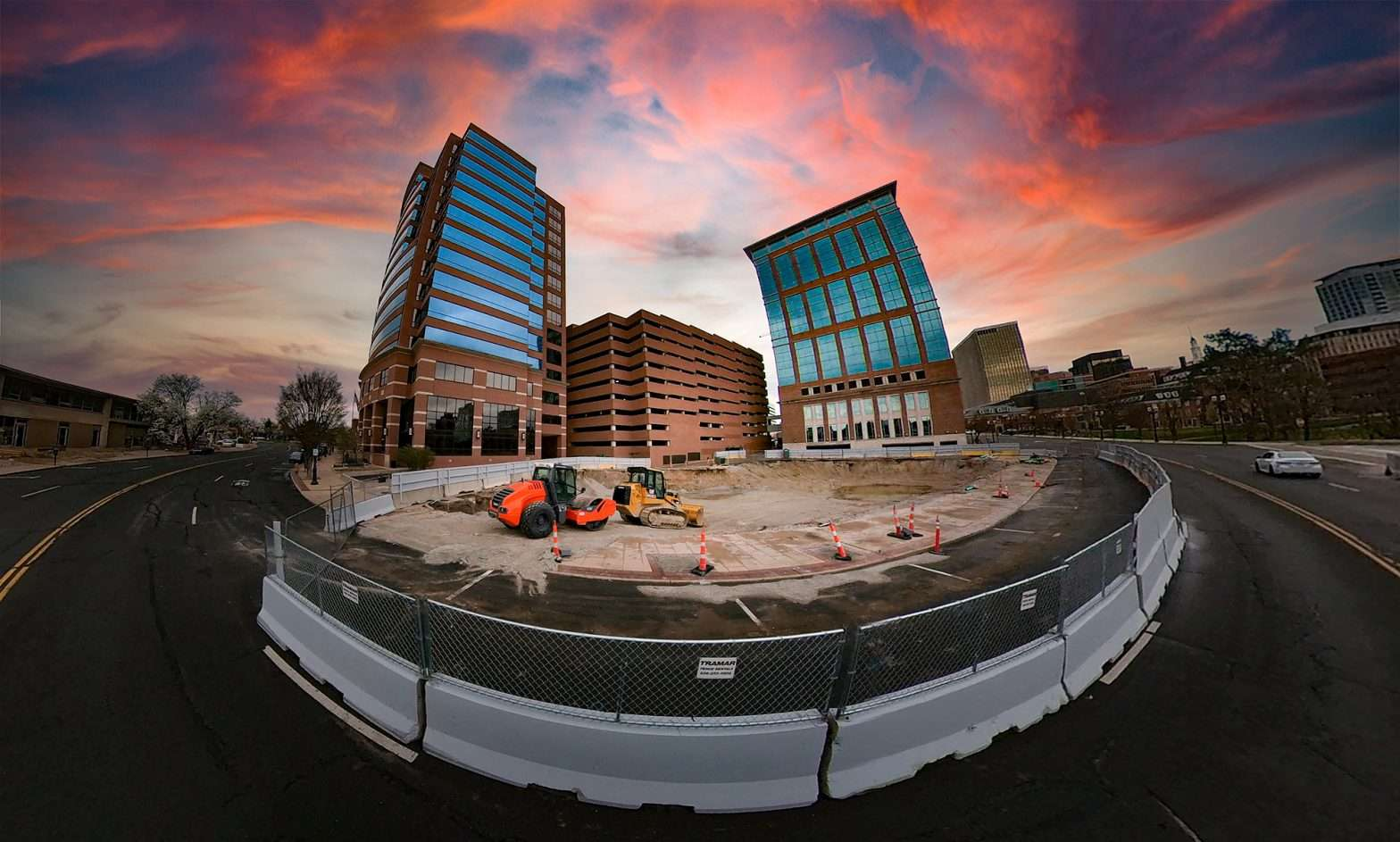 Marriott Extended Stay Hotel in Clayton is currently under construction. credit craig currie March 2021