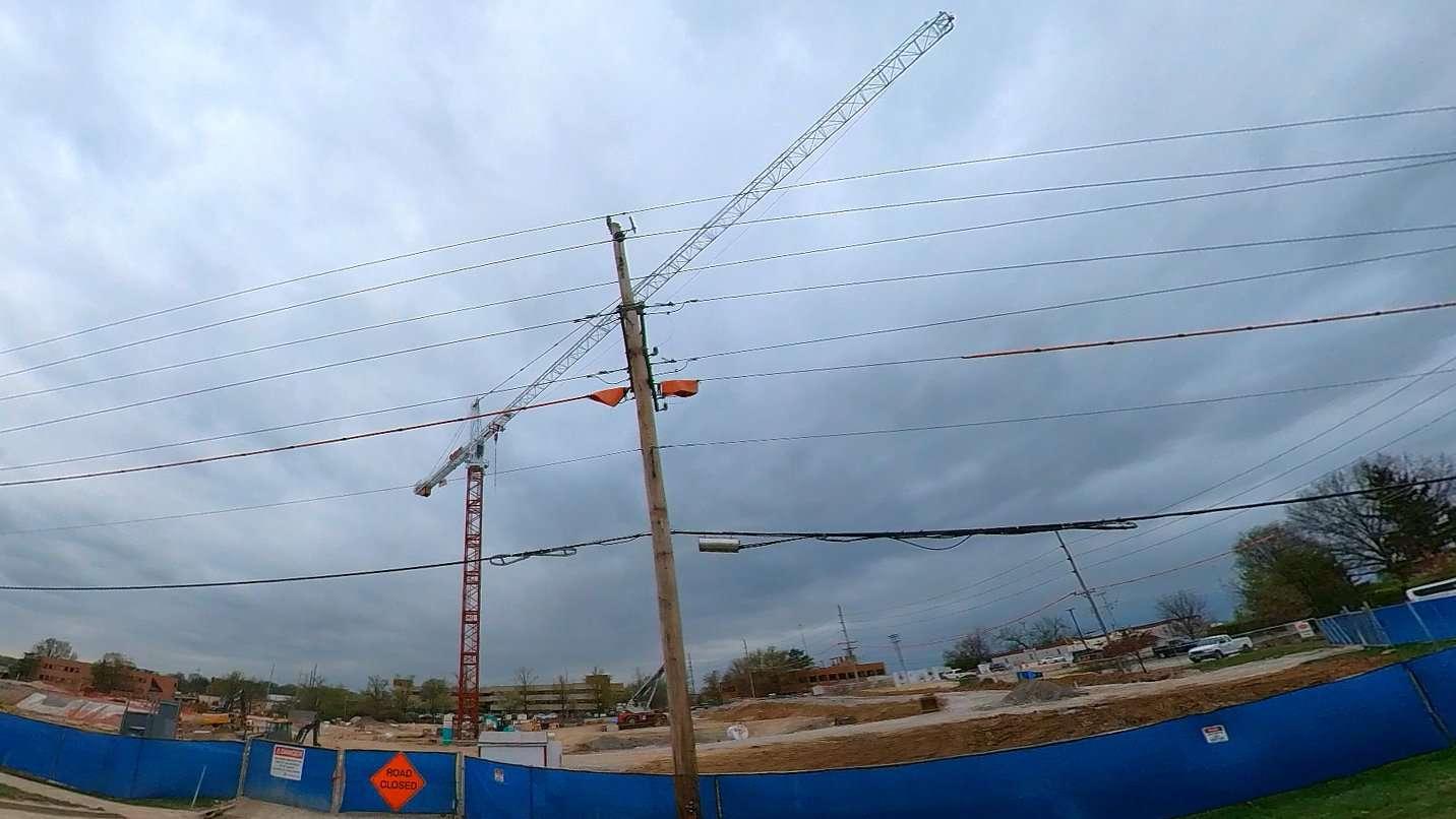 Mercy Ballas Multispecialty Center Under Construction