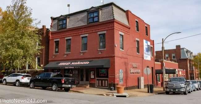 1860_s Bar in Soulard neighborhood in St. Louis in Nov. 2019. credit craig currie