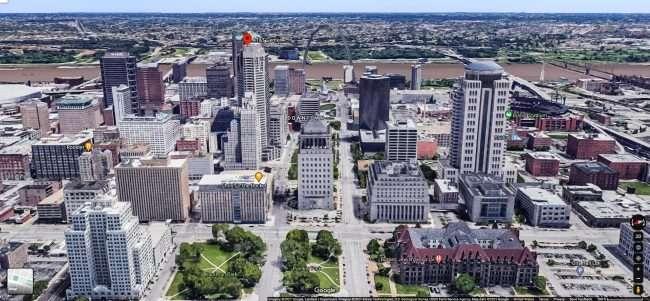 At&T Center Building 909 Chestnut St. downtown St. louis. credit Google Maps