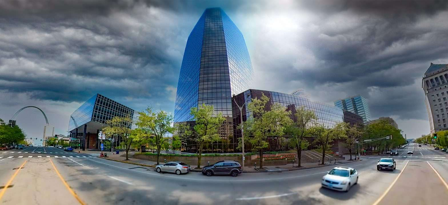 Bank of America Plaza building Downtown St. louis. April 2021 craig currie