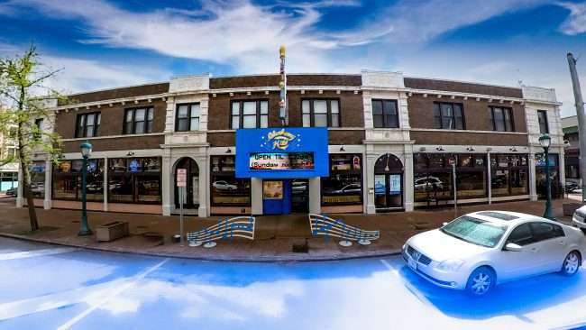 Blueberry Hill family restaurant on Delmar Blvd in University City. Credit Craig Currie April 2021