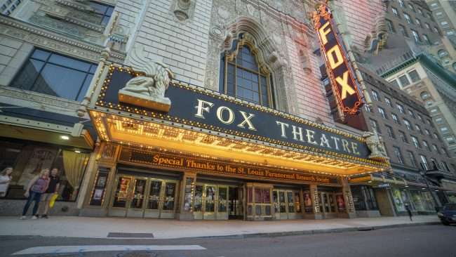 Fox Theater St Louis Paranormal Research Society