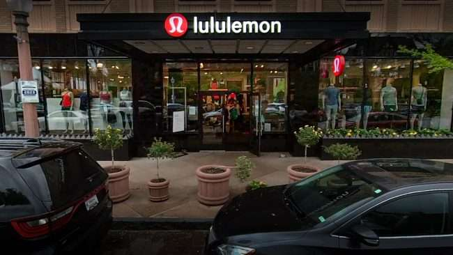Luluemon Boutique in the Central West End in April 2021. credit craig currie