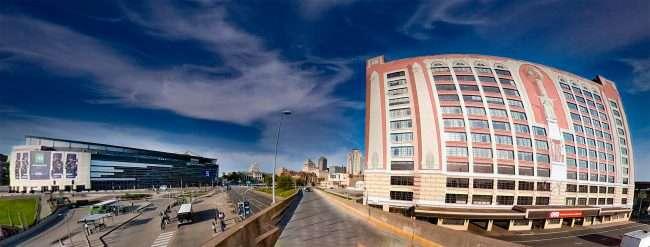 OYO Hotel St. Louis, Enterprise Center. April 2021 by craig currie