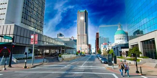 One Metropolitan Square St. Louis. April 2021 by craig currie