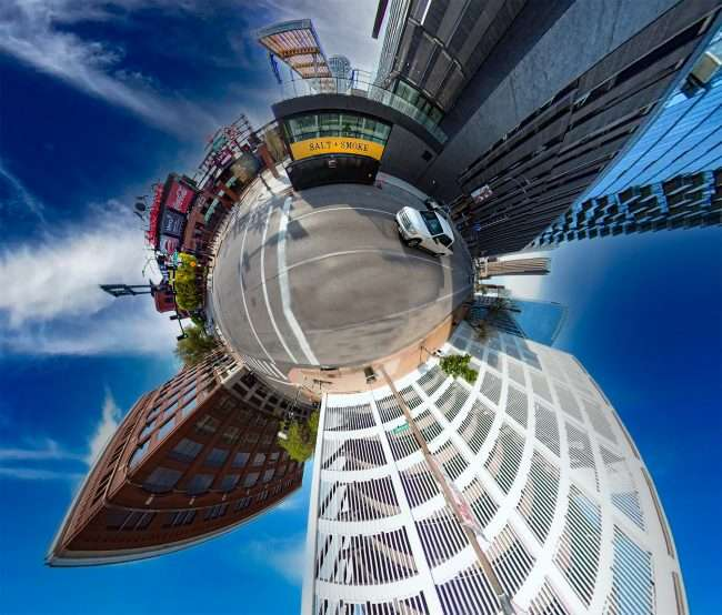 Salt + Smoke Ballpark Village in Downtown St. Louis. April 2021 by craig currie
