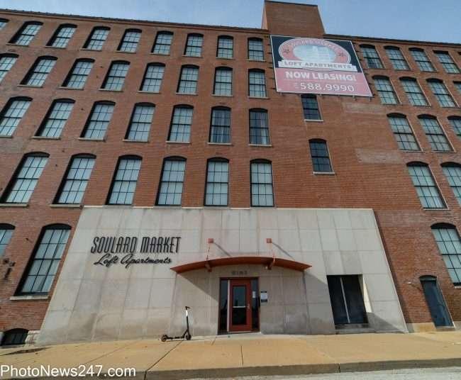 Soulard Market Apartments in Soulard neighborhood in St. Louis. credit craig currie