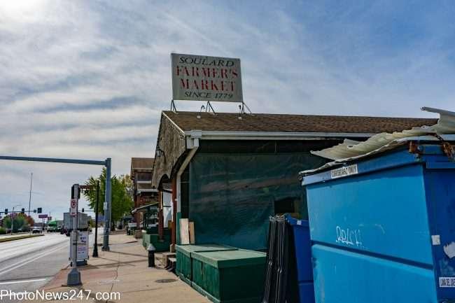 Soulard Market in Soulard neighborhood in St. Louis. credit craig currie
