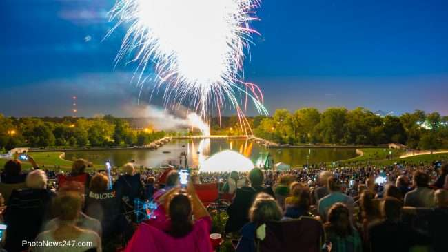 St Louis Symphony at Forest Park free annual concert