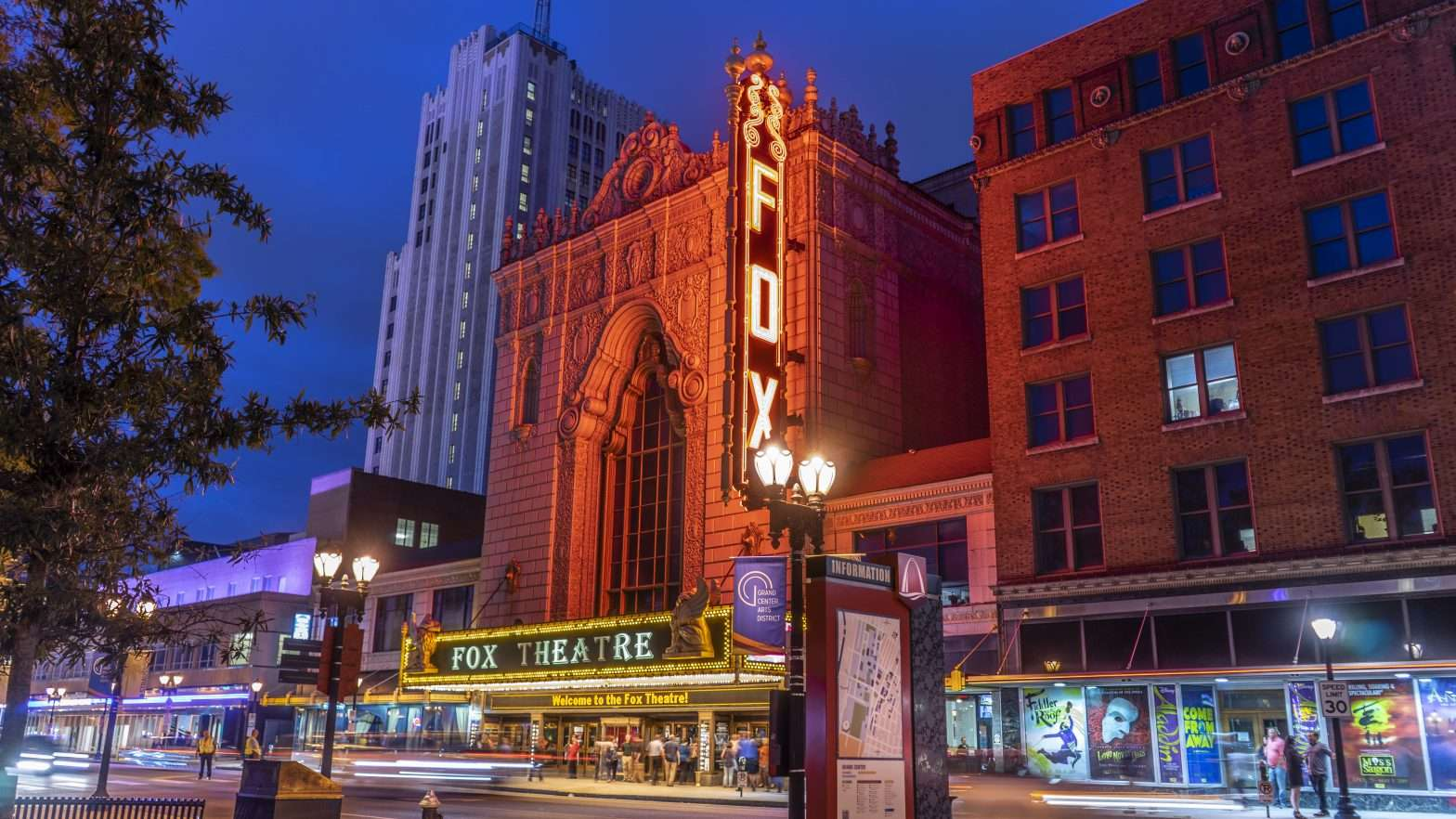 The Fox Theater, Grand Center Arts District, Midtown St Louis