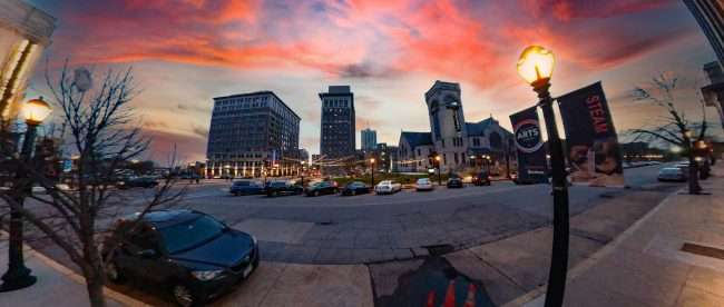 The Grandel Grand Center St. Louis April 2021. credit criaig currie