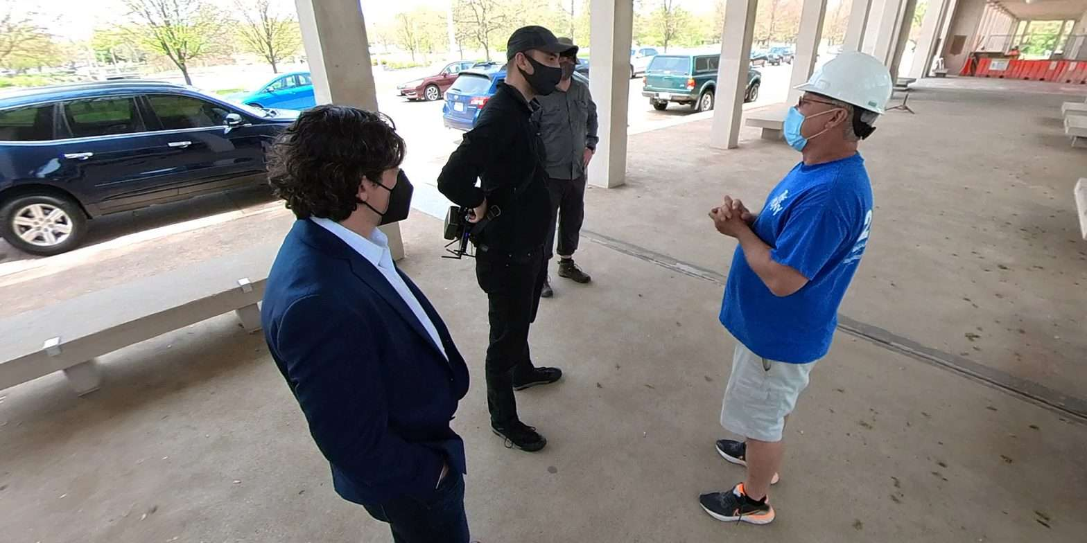The Muny kicks camera crew and blogger off property. April 2021 by craig currie