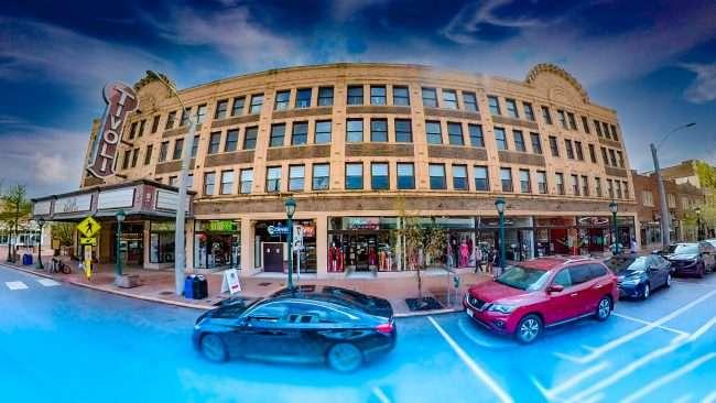 Tivoli Theatre building in University City in April 2021. credit Craig currie