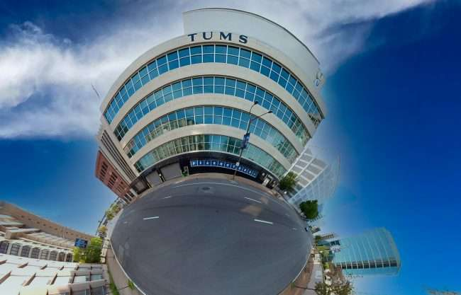 Tums Building on 4th Street in Downtown St. Louis. April 2021 by craig currie