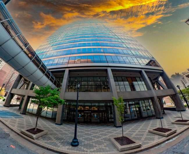 US Bank Plaza building in downtown Saint Louis. April 2021 by craig currie