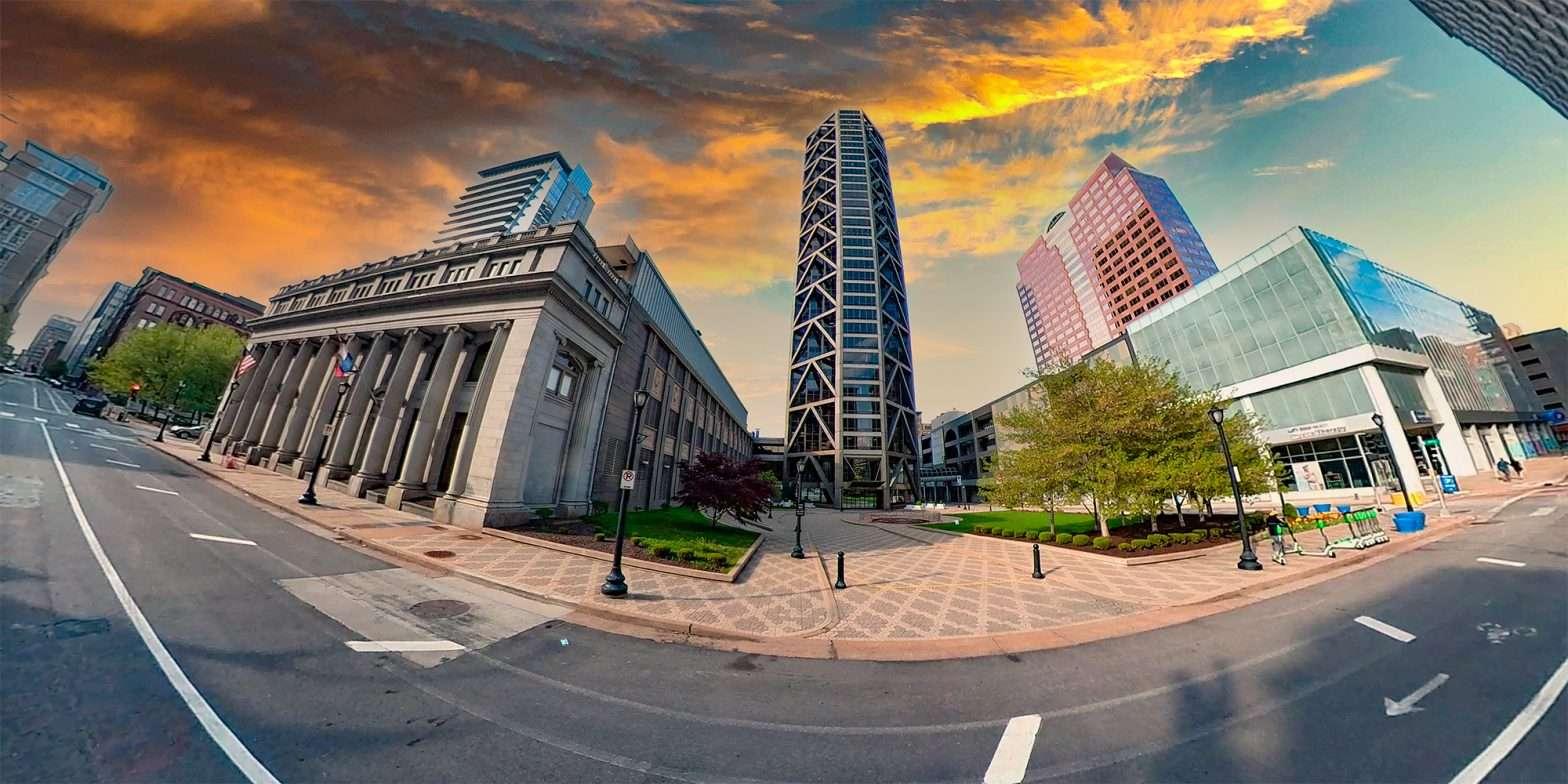 US Bank Plaza building Saint Louis. April 2021 by craig currie