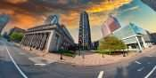 US Bank Plaza building Saint Louis. April 2021 by craig currie