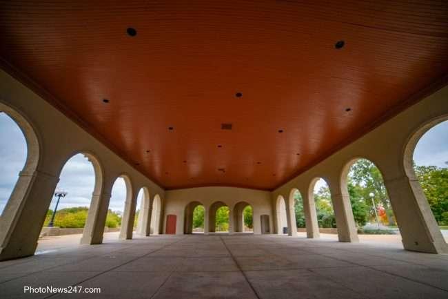 World's Fair Pavilion Forest Park Forever under inside