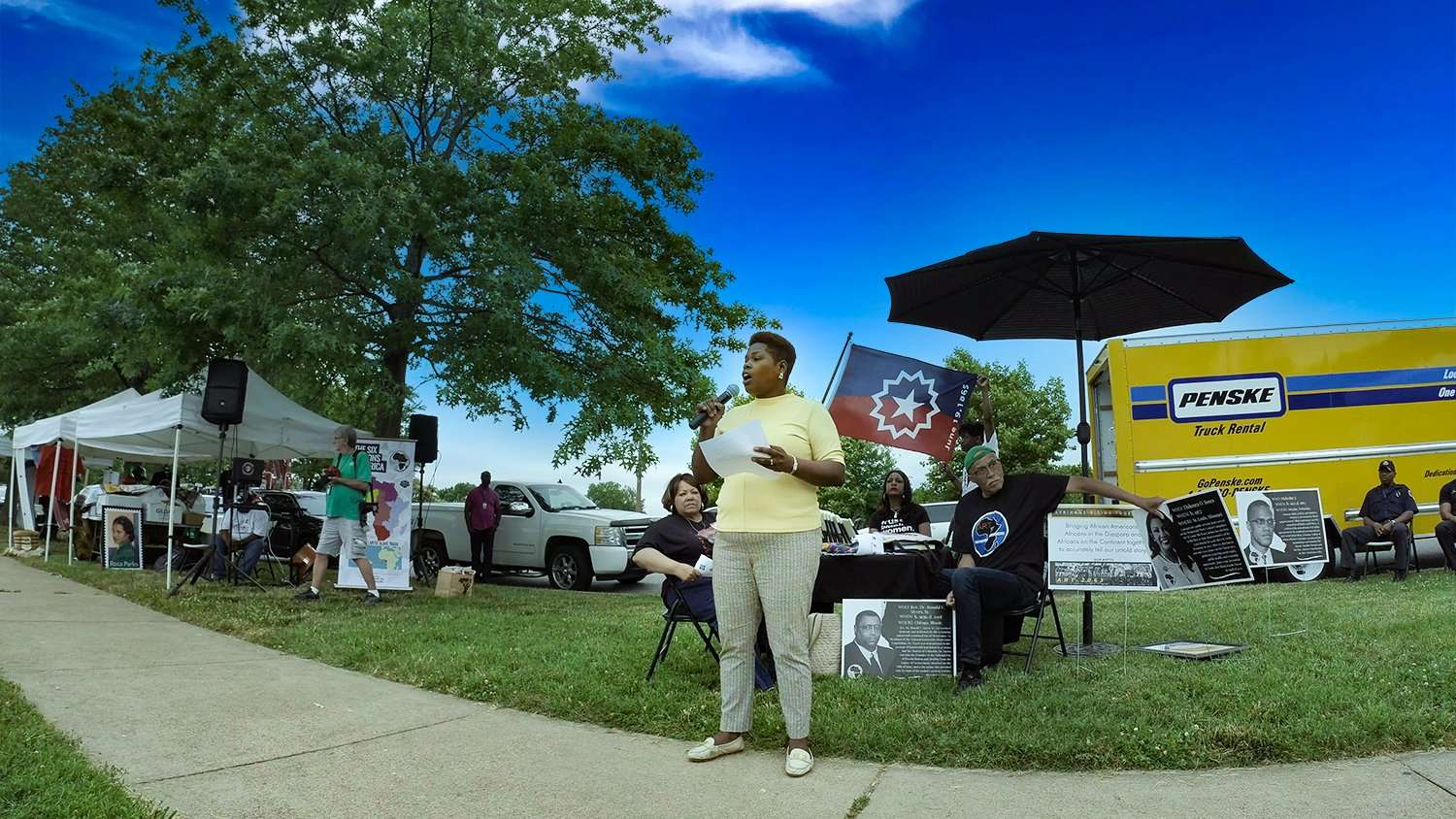 Dr Keisha Ross Slavery Past Juneteenth. credit craig currie