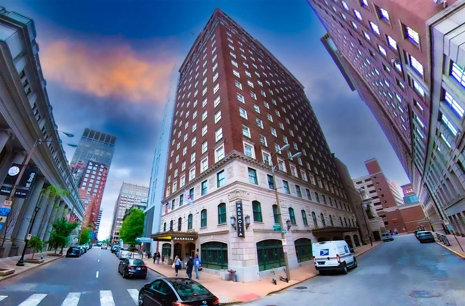 The Magnolia Hotel in the City of St. Louis. by craig currie