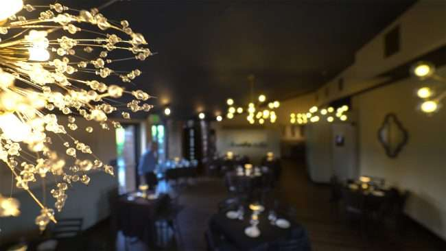 Timothy's STL Elevated Dining Restaurant featuring dining room in Creve Coeur, MO. credit craig currie