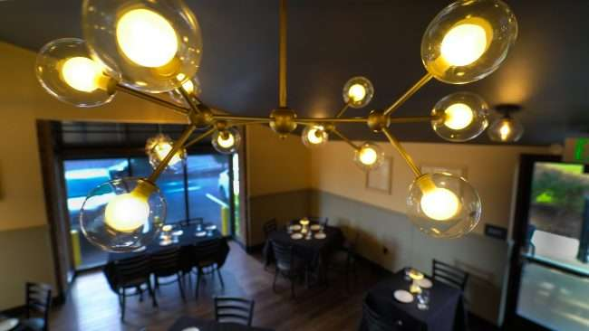 Timothy's STL Restaurant featuring front dining room in Creve Coeur, MO.