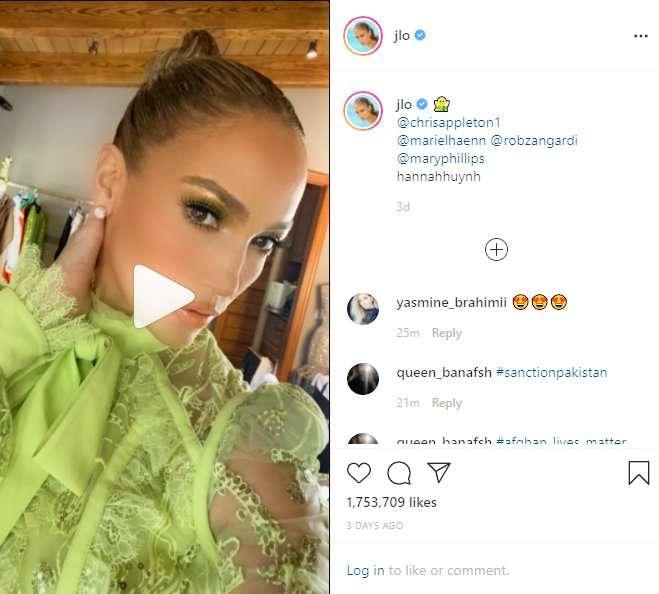 Jennifer Lopez Elie Saab Embroidered Tulle Midi Dress.jpg