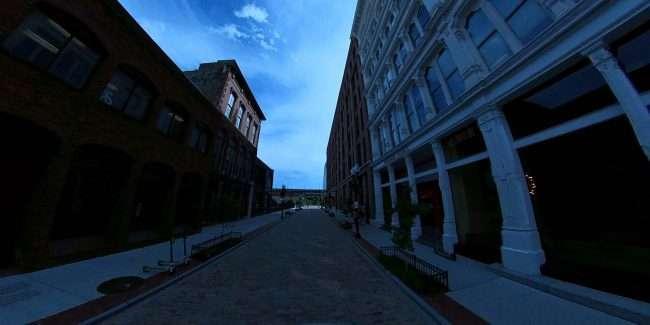 Historic Laclede's Landing, downtown St. Louis. credit craig currie