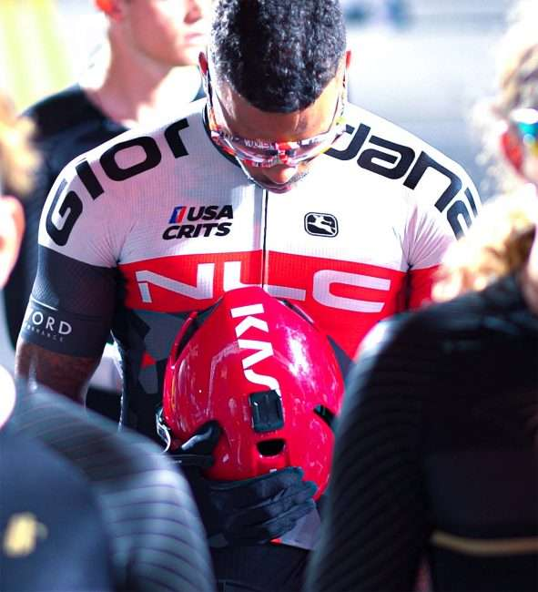 Gateway Cup men's pro bow heads before bicycle race in Lafayette Park, Tour de Lafayette. credit craig currie