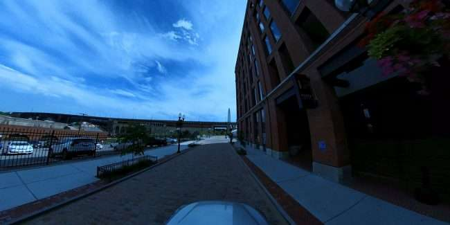Pepper Loft Apartments in Laclede's Landing in downtown St. Louis. credit craig currie